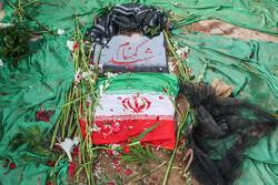 پیکر مطهر شهید گمنام در دانشگاه فرهنگیان تبریز به خاک سپرده شد