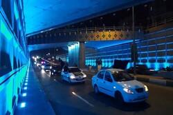 آئین تشییع نمادین حضرت زهرا(س)به صورت خودرویی در ورامین برگزار شد