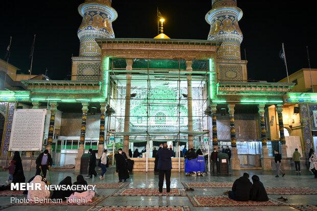 محفل انس با قرآن کریم در حرم حضرت عبدالعظیم (ع)