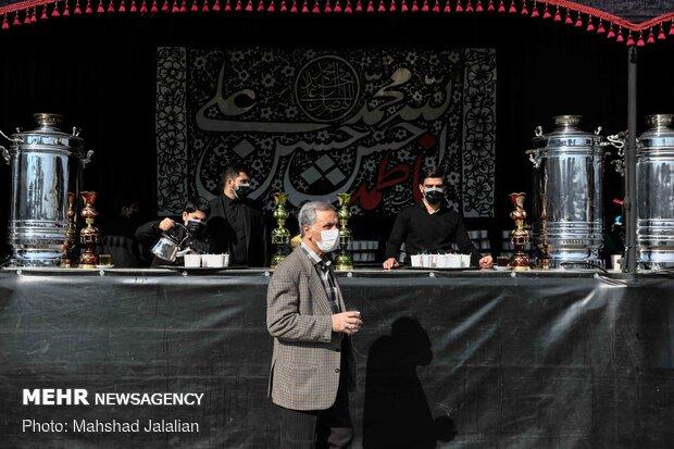 مشهد در عزای نگین شکسته ی علی (ع)