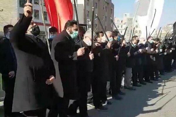 مردم آذربایجانغربی در سالروز شهادت ام ابیها اشک ماتم ریختند