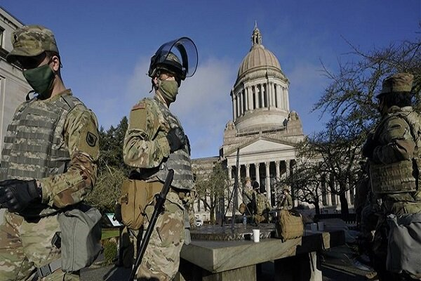 US state capitals on alert for possible pro-Trump protests