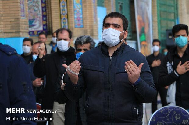 اجتماع عزاداران فاطمی در کرمانشاه