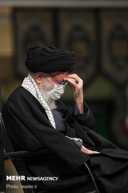İslam Devrimi Lideri'nin huzurunda matem töreni