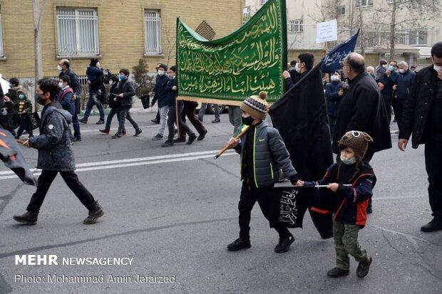 دسته عزاداری کودکان و نوجوانان به مناسبت شهادت حضرت زهرا (س)