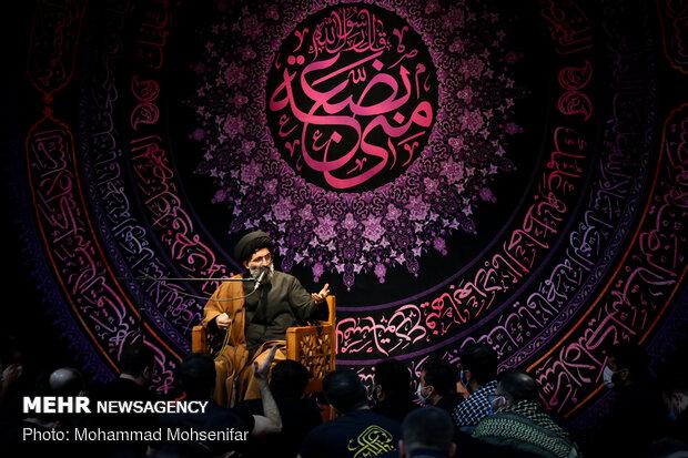 عزاداری شهادت حضرت فاطمه زهرا(س) در هيئت ريحانة الحسين (ع)