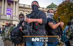 رژه طرفداران مسلح ترامپ در واشنگتن
