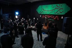 امامزادہ قاضی الصابر میں حضرت زہرا (س) کی شہادت کی مناسبت سے مجلس عزا منعقد