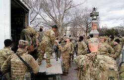 واشنگٹن ڈی سی کا ریڈ زون فوجی چھاؤنی میں تبدیل ہو گیا