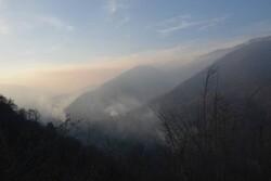 مهار آتش در جنگل های «باغ گلبن» گرگان/تلاش برای اطفا ادامه دارد