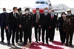 وزیر دفاع ترکیه وارد پایتخت عراق شد