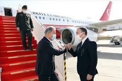 Türkiye Milli Savunma Bakanı Akar Bağdat'da