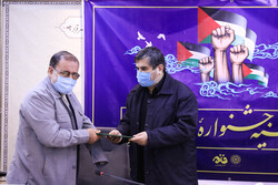 فلسطین کے مقامی فیسٹیول کی اختتامی تقریب