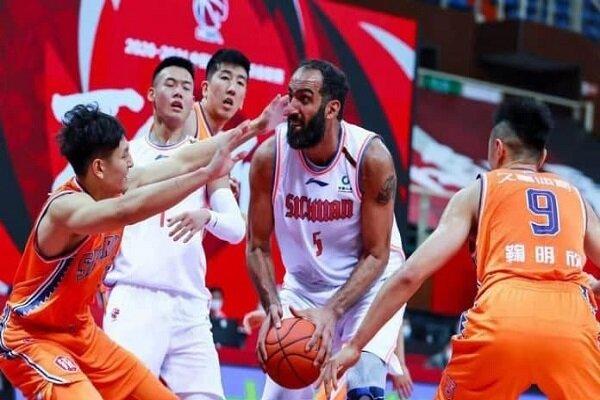 حامد حدادی در جمع ۵ بازیکن برتر خارجی لیگ حرفهای بسکتبال چین