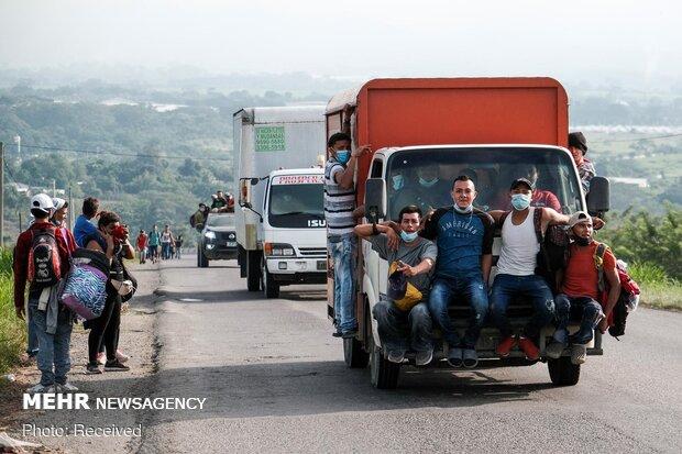 Göçmenler ABD sınırlarında