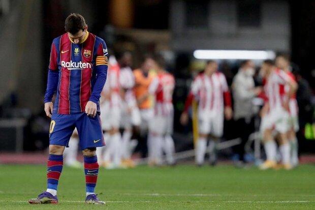 Barcelona Şampiyonlar Ligi'nde şoke oldu!