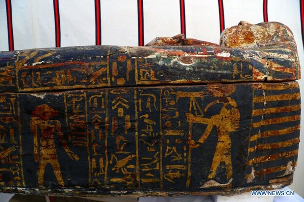 Egypt unveils 3000-year old coffins at ancient site