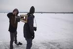 شهروند کانادایی جت پک اسکی روی یخ ابداع کرد