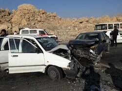 جانباختگان تصادفات جادهای گلستان ۲۵ درصد کاهش یافت
