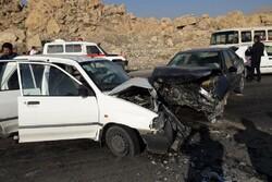 برخورد ۲ خودروی پراید در محور اراک - بروجرد، یک کشته بر جای گذاشت