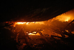 انبار دپوی داروهای قاچاق در اداره جهاد کشاورزی دماوند در آتش سوخت