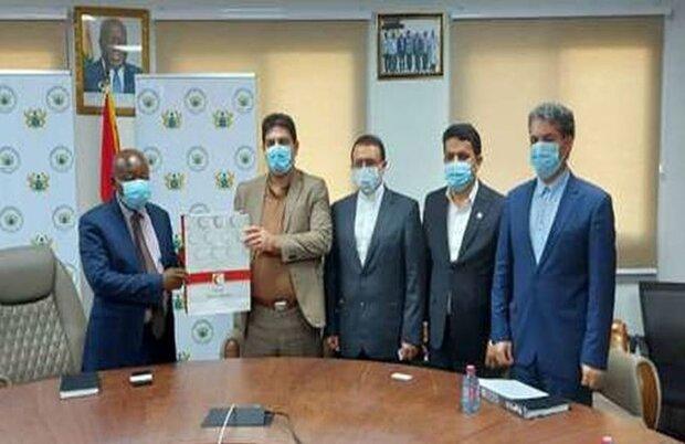 وزير الصحة الغاني يشيد بخدمات الهلال الاحمر الايراني