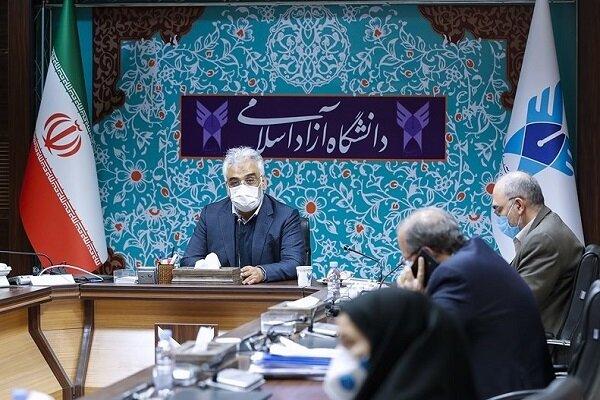 تاکید رئیس دانشگاه آزاد بر اجرای بخشنامه دفاع رساله