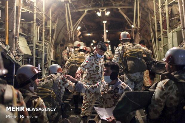 İran'daki son askeri tatbikattan fotoğraflar