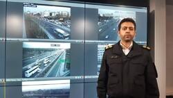 ترافیک سنگین صبحگاهی در ۱۶ معبر اصلی پایتخت