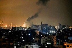 Israeli fighter jets bomb areas in Palestine's Gaza