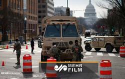 VIDEO: Washington on high alert before Biden's inauguration