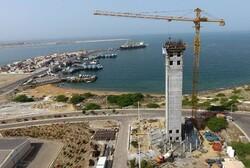 ساختمان مرجع دریایی جاسک پایان سال ۹۹ به بهره برداری می رسد