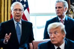 سران حزب جمهوریخواه در مراسم خداحافظی ترامپ شرکت نمی کنند