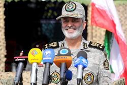 نشست خبری فرماندهان ارتش در پایان رزمایش اقتدار ۹۹