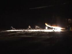 اجرای عملیات هلی برن و انهدام اهداف ثابت و متحرک در شب