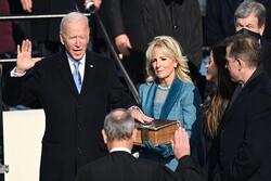ABD'de Biden için yemin töreni düzenlendi