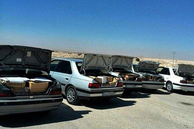 خودروهای شوتی حامل قاچاق در عسلویه متوقف شدند