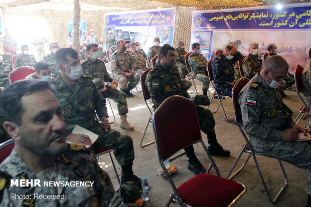 Army commanders hold presser after 'Eghtedar 99' drills