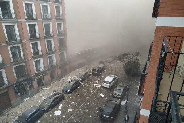 میڈرڈ میں کثیر منزلہ رہائشی عمارت میں زوردار دھاماکے سے 2 افراد ہلاک