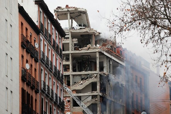 At least two people dead in Madrid explosion