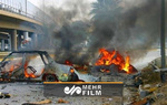 Bağdat'taki intihar saldırısından görüntüler