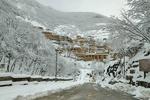 جلوه های زیبای زمستان در شهر تاریخی ماسوله