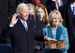 ABD Başkanı seçilen Biden'in yemin töreninden kareler