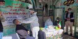 غربالگری بیماران کرونایی در بازار تهران آغاز شد