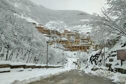 ماسولہ کے تاریخي شہر میں برف کے شاندار مناظر