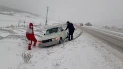 اسکان ۲۰۰ در راه مانده در برف و کولاک دماوند