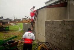 امدادرسانی به ۴۴۷ حادثه دیده در کولاک و طوفان گلستان