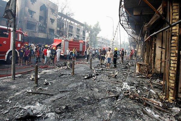 همزمانی انفجارهای بغداد با روی کار آمدن «بایدن»,
