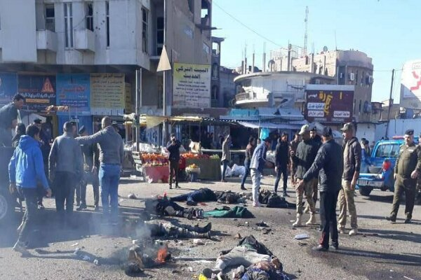 عشرات الشهداء في هجوم انتحاري مزدوج هز وسط بغداد