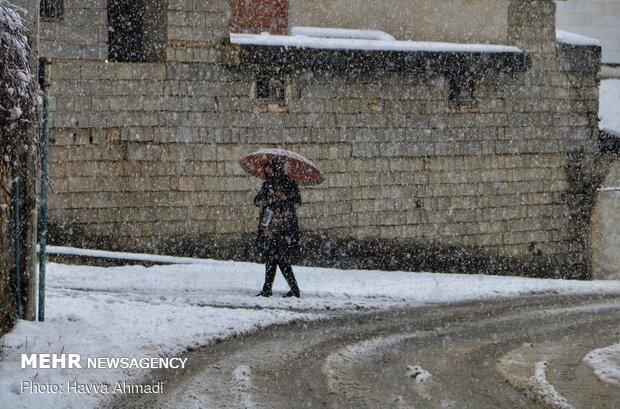 روز برفی در کردآباد
